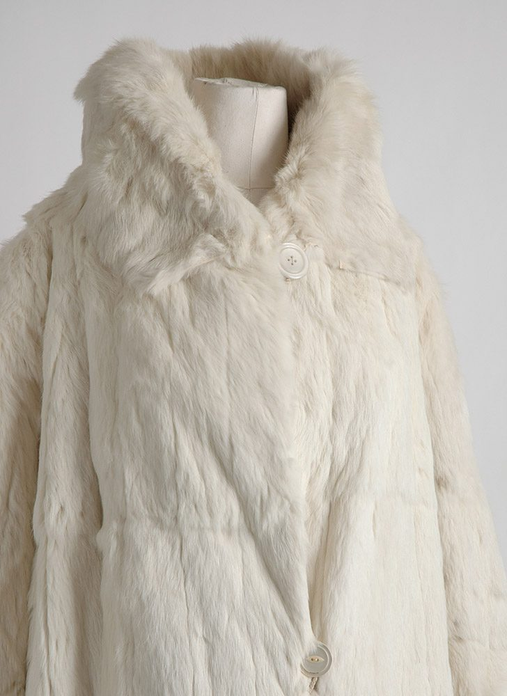 1920s Revillon Frères ermine fur coat (study/display)