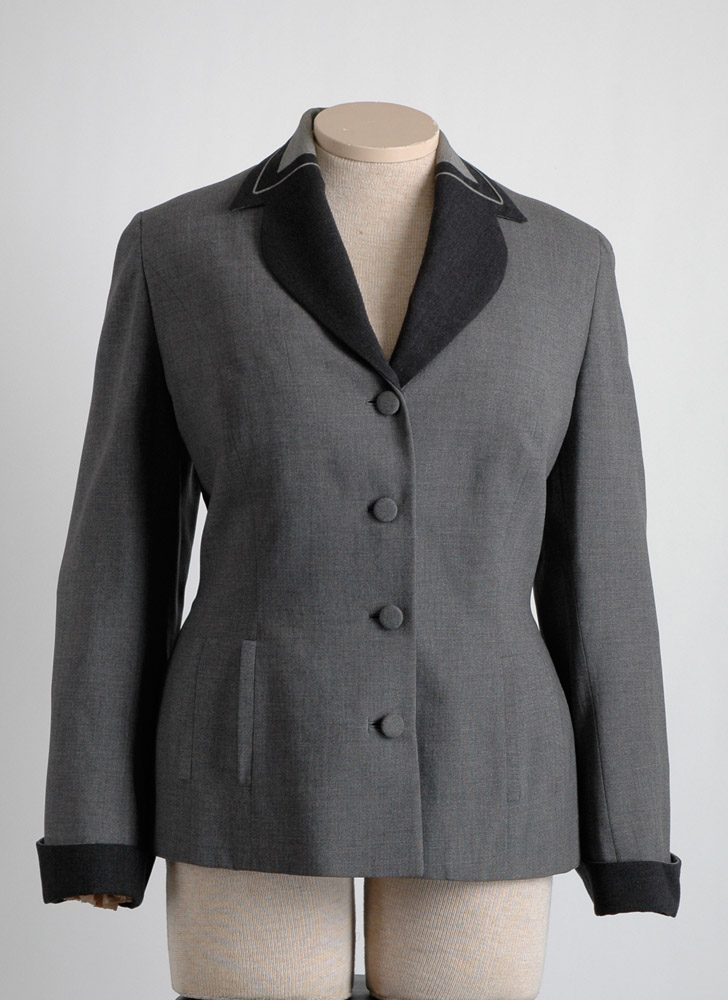 1940s Edith Small Art Deco suit jacket