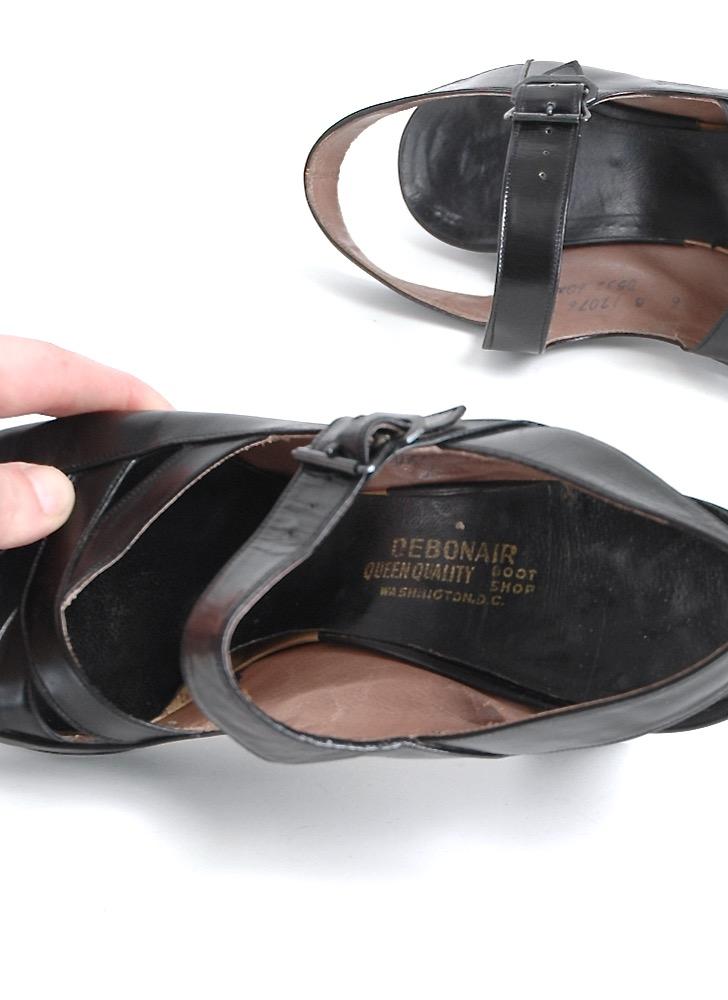 COMING SOON! 1940s Debonair sandal heels 6B