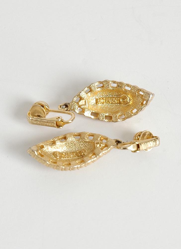 1960s Sarah Coventry 'ocean star' earrings