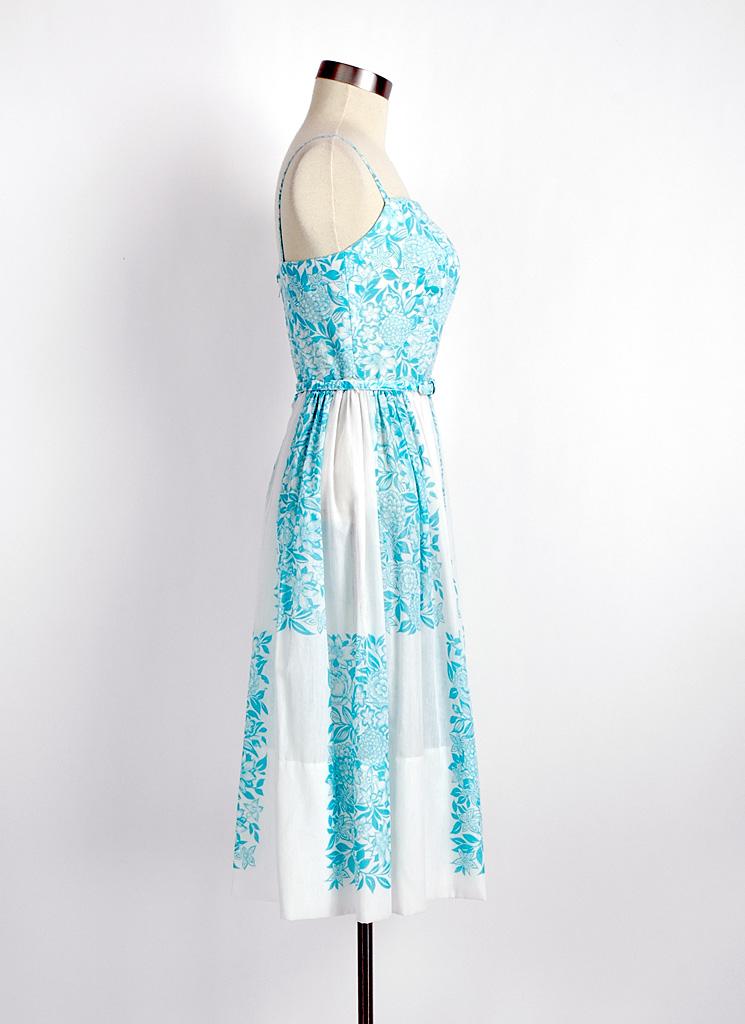 1950s cotton dress + bolero