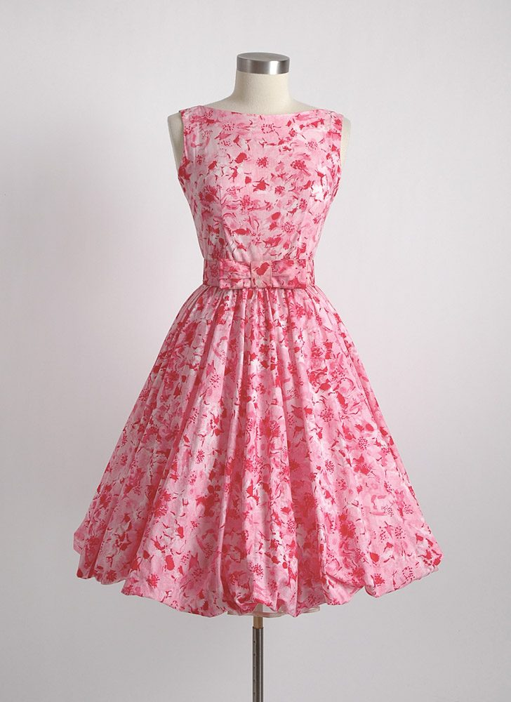 1950s 60s Jerry Gilden bubble dress