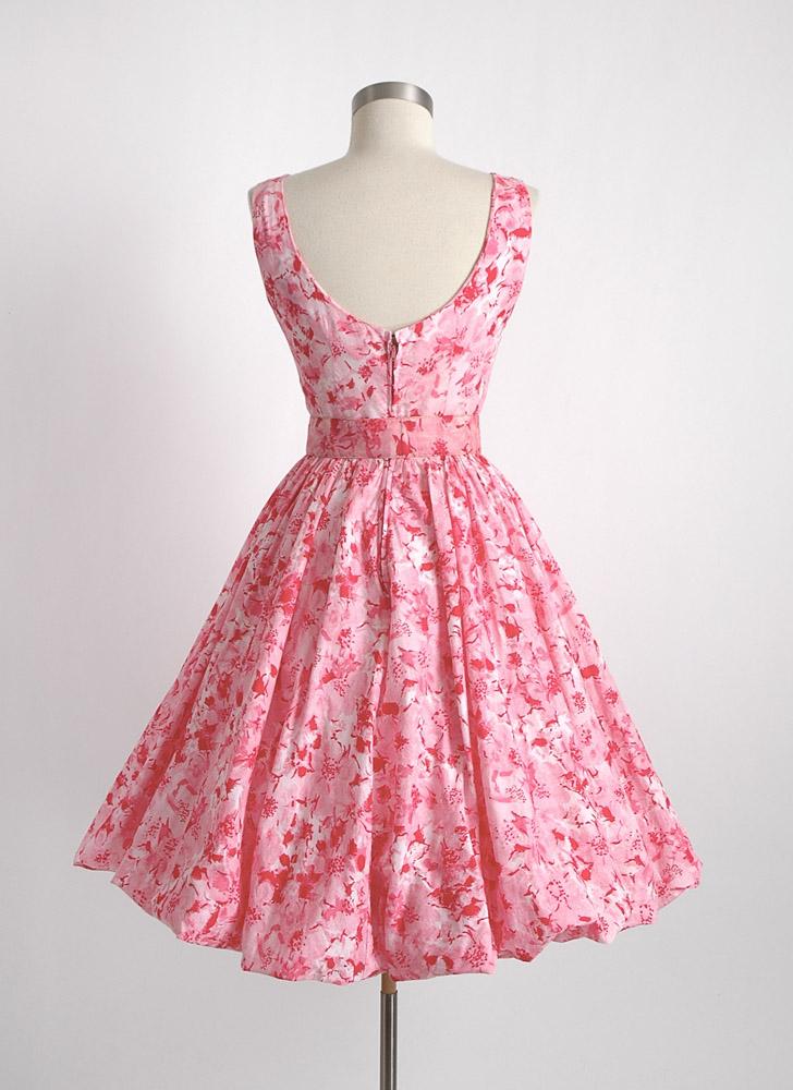 1950s 60s Jerry Gilden bubble dress