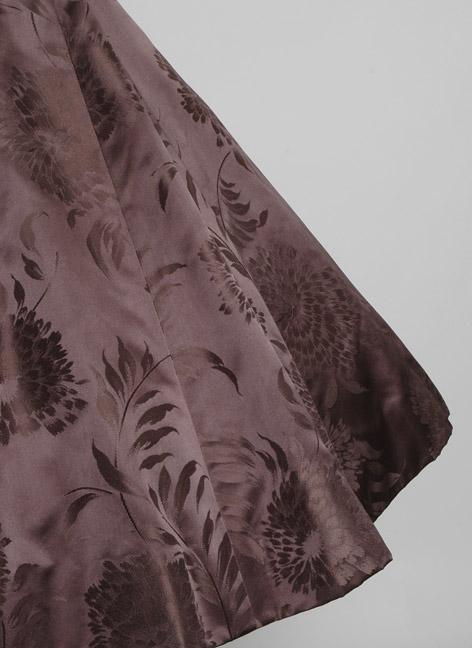 1950s SOPHIE ORIGINAL silk satin damask dress