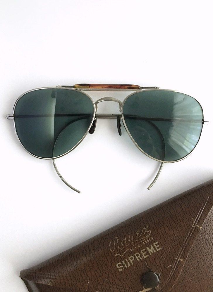 vintage Rayex Supreme Aviator sunglasses