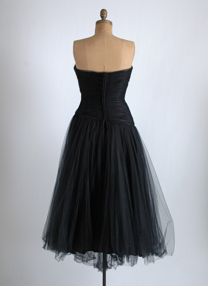 COMING SOON! 1950s Helena Barbieri ruched dress