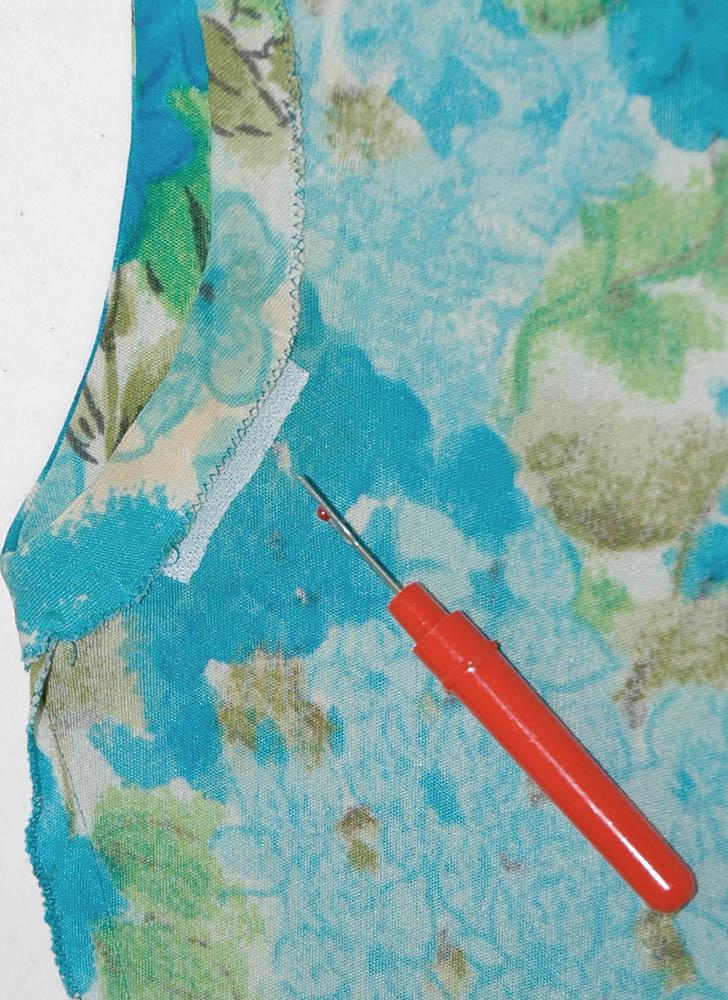 1960s Bonwit Teller blue floral Italian silk jersey dress