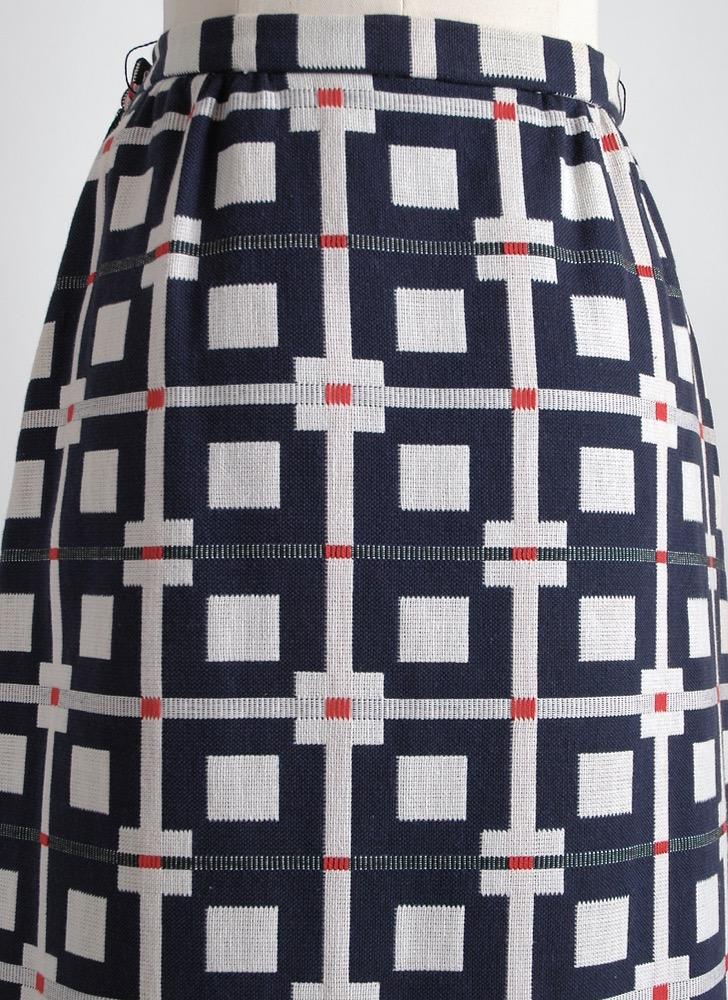 1960s 70s Nelly de Grab floor length skirt