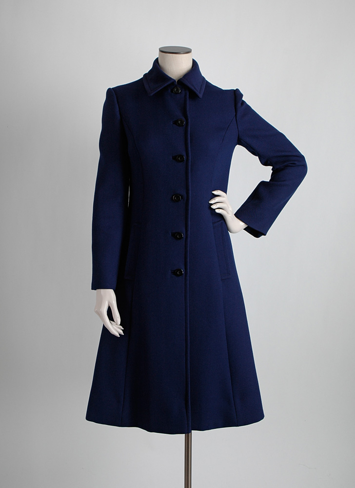 1970s Jean Louis Fashionaire United Airlines Coat