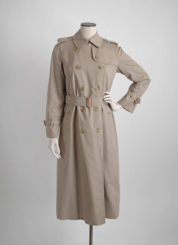 vintage Burberrys khaki trench coat (issues)