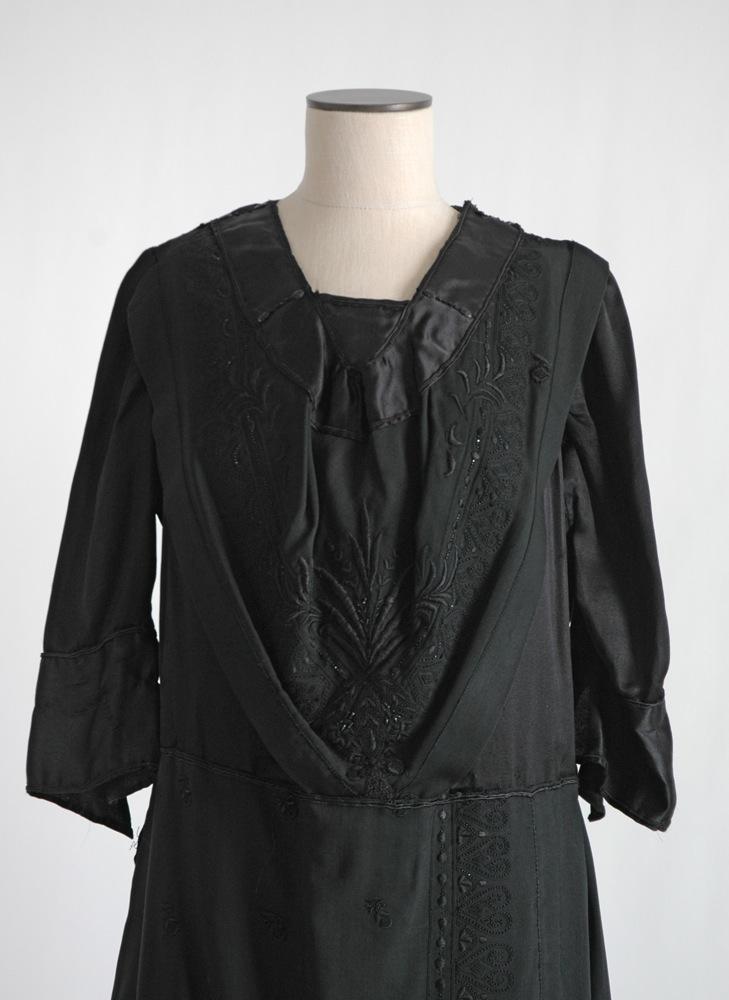 COMING SOON! 1920s beaded black dress