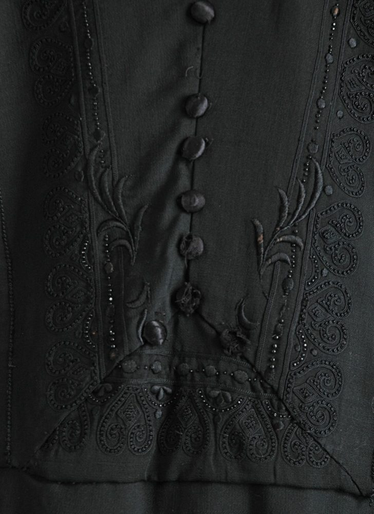COMING SOON! 1920s beaded black dress