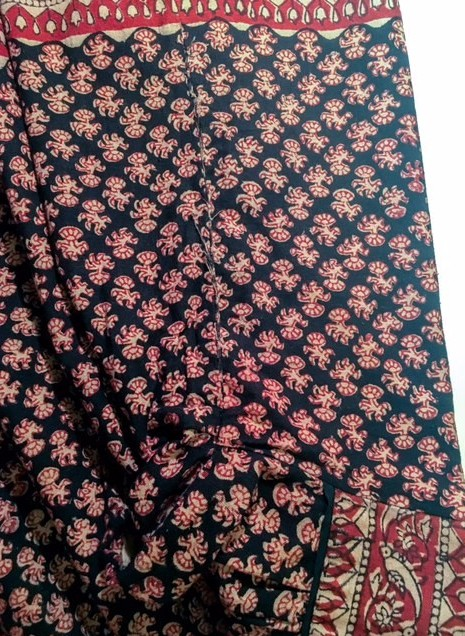 1970s al-Harbi bib India cotton dress