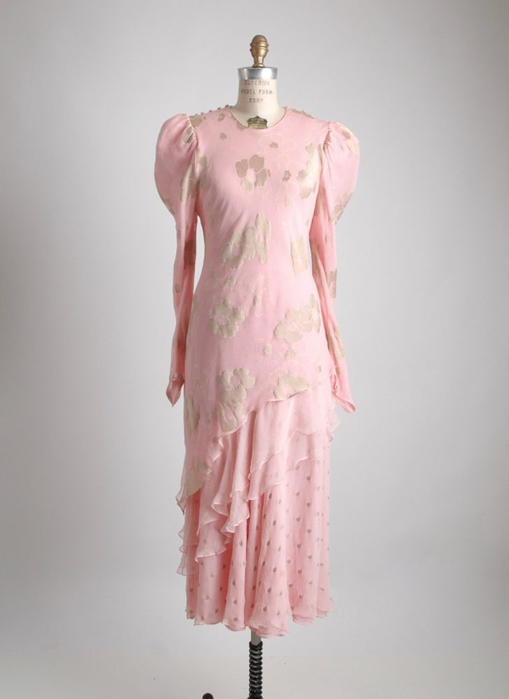 1970s 80s Judy Hornby silk dress
