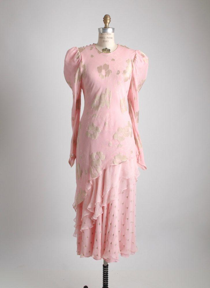 1970s 80s Judy Hornby silk dress