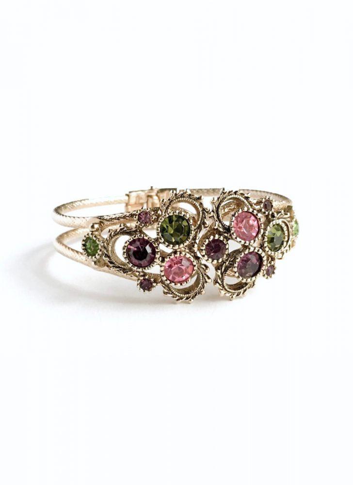 vintage Coventry rhinestone bracelet