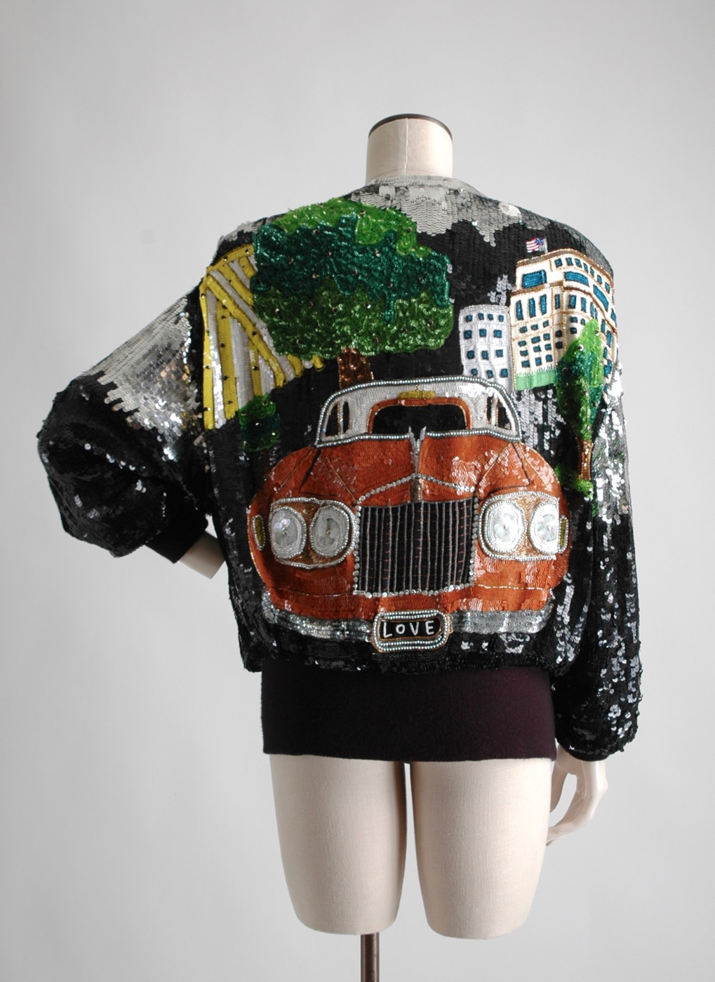 the Rolls Royce of 1980s sequin bomber jackets